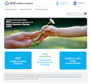 ASD Toddler site image